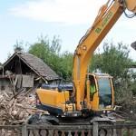 Bagerom namjerno srušena terasa – osiguratelj odbio isplatu štete